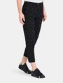 ARMANI EXCHANGE DIAMOND PRINT TAPERED TROUSER Hose Damen d