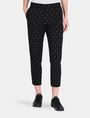 ARMANI EXCHANGE DIAMOND PRINT TAPERED TROUSER Hose Damen f