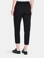 ARMANI EXCHANGE DIAMOND PRINT TAPERED TROUSER Hose Damen r