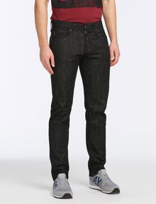 ARMANI EXCHANGE BLACK WEAVE SLIM-FIT JEAN Slim fit JEANS Man f