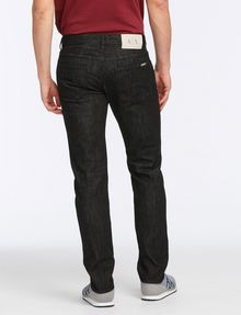 ARMANI EXCHANGE BLACK WEAVE SLIM-FIT JEAN Slim fit JEANS Man r