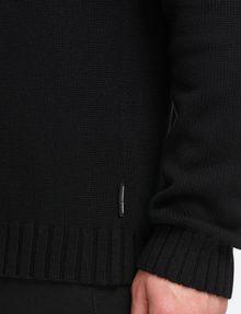 ARMANI EXCHANGE BUBBLE-STITCH SHAWL-COLLAR SWEATER Pullover Man e