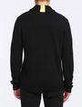 ARMANI EXCHANGE BUBBLE-STITCH SHAWL-COLLAR SWEATER Pullover Man r