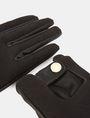 ARMANI EXCHANGE PANELED RACING GLOVES Handschuhe Damen r