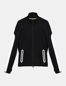 ARMANI EXCHANGE EMBOSSED MOCKNECK ZIP JACKET Fleece Jacket Man b