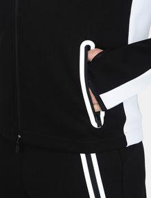 ARMANI EXCHANGE EMBOSSED MOCKNECK ZIP JACKET Fleece Jacket Man e