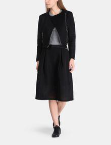 ARMANI EXCHANGE PERFORATED FULL MIDI SKIRT Midi Skirt Woman a