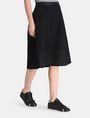ARMANI EXCHANGE PERFORATED FULL MIDI SKIRT Midi Skirt Woman d