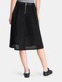 ARMANI EXCHANGE PERFORATED FULL MIDI SKIRT Midi Skirt Woman r