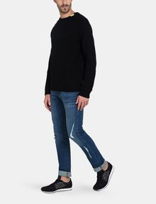 ARMANI EXCHANGE BUBBLE-STTICH CREWNECK SWEATER Pullover Man a