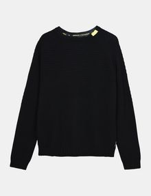 ARMANI EXCHANGE BUBBLE-STTICH CREWNECK SWEATER Pullover Man b