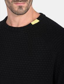 ARMANI EXCHANGE BUBBLE-STTICH CREWNECK SWEATER Pullover Man e