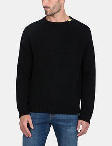 ARMANI EXCHANGE BUBBLE-STTICH CREWNECK SWEATER Pullover Man f