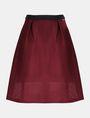 ARMANI EXCHANGE PERFORATED FULL MIDI SKIRT Midi Skirt Woman b