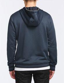 ARMANI EXCHANGE VINTAGE PATCH DETAIL HOODIE Fleece Jacket Man r