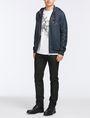 ARMANI EXCHANGE VINTAGE PATCH DETAIL HOODIE Fleece Jacket Man a
