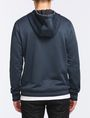 ARMANI EXCHANGE VINTAGE PATCH DETAIL HOODIE Fleece Jacket Man r