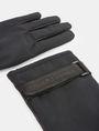 ARMANI EXCHANGE PIECED LEATHER GLOVES Gloves Man r