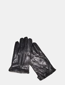 ARMANI EXCHANGE LEATHER GLOVES Gloves Man f