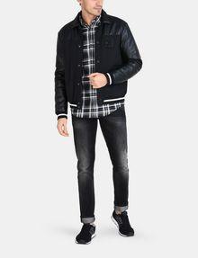 ARMANI EXCHANGE MODERN MACRO PLAID SHIRT Long sleeve shirt Man a