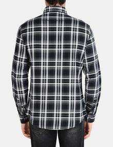 ARMANI EXCHANGE MODERN MACRO PLAID SHIRT Long sleeve shirt Man r