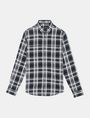 ARMANI EXCHANGE MODERN MACRO PLAID SHIRT Long sleeve shirt Man b