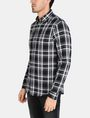 ARMANI EXCHANGE MODERN MACRO PLAID SHIRT Long sleeve shirt Man d