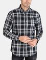 ARMANI EXCHANGE MODERN MACRO PLAID SHIRT Long sleeve shirt Man f
