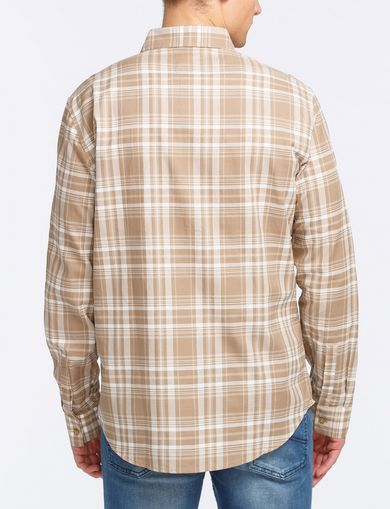 MODERN MACRO PLAID SHIRT