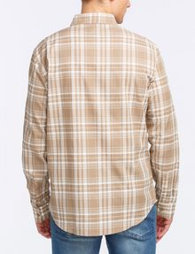 ARMANI EXCHANGE MODERN MACRO PLAID SHIRT Long sleeve shirt Man r