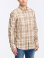 ARMANI EXCHANGE MODERN MACRO PLAID SHIRT Long sleeve shirt Man d