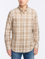 ARMANI EXCHANGE MODERN MACRO PLAID SHIRT Long sleeve shirt Man f