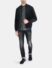 ARMANI EXCHANGE DIAMOND-DOT SLIM-FIT SHIRT Long sleeve shirt Man a
