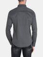 ARMANI EXCHANGE DIAMOND-DOT SLIM-FIT SHIRT Long sleeve shirt Man r