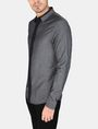 ARMANI EXCHANGE SLIM-FIT CONTRAST PLACKET SHIRT Long sleeve shirt Man d