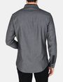 ARMANI EXCHANGE SLIM-FIT CONTRAST PLACKET SHIRT Long sleeve shirt Man r