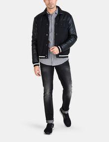 ARMANI EXCHANGE OPTIC CHECK SHIRT Long sleeve shirt Man a