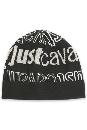 JUST CAVALLI Intarsia-knit beanie