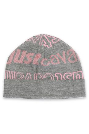 JUST CAVALLI Intarsia-knit beanie