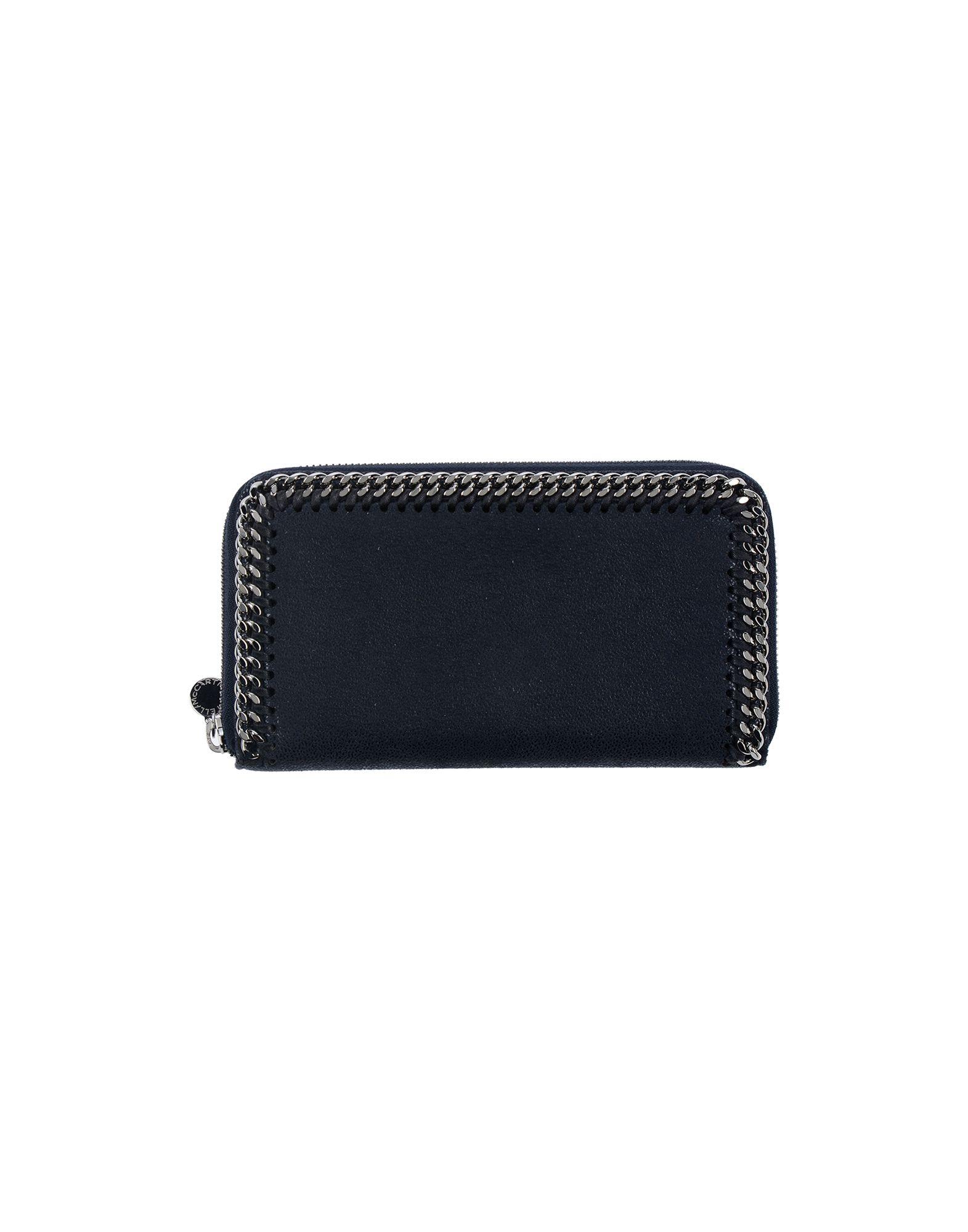 《送料無料》STELLA McCARTNEY レディース 財布 ダークブルー 紡績繊維