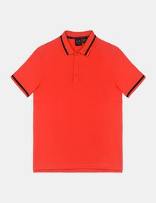 ARMANI EXCHANGE CIRCLE LOGO BICOLOR POLO SHORT SLEEVES POLO Man b