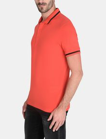 ARMANI EXCHANGE CIRCLE LOGO BICOLOR POLO SHORT SLEEVES POLO Man d