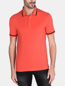ARMANI EXCHANGE CIRCLE LOGO BICOLOR POLO SHORT SLEEVES POLO Man f