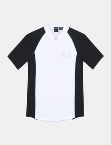 ARMANI EXCHANGE SIDE PANEL LOGO POLO SHORT SLEEVES POLO Man b