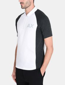 ARMANI EXCHANGE SIDE PANEL LOGO POLO SHORT SLEEVES POLO Man d