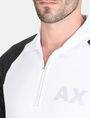 ARMANI EXCHANGE SIDE PANEL LOGO POLO SHORT SLEEVES POLO Man e