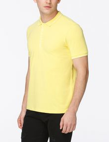 ARMANI EXCHANGE LOGO PLACKET POLO SHORT SLEEVES POLO Man d