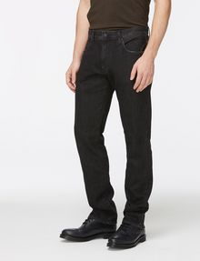 ARMANI EXCHANGE WASHED BLACK STRAIGHT FIT JEANS STRAIGHT FIT JEANS Man d