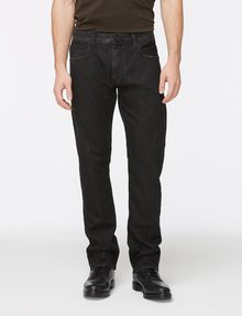 ARMANI EXCHANGE WASHED BLACK STRAIGHT FIT JEANS STRAIGHT FIT JEANS Man f