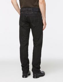 ARMANI EXCHANGE WASHED BLACK STRAIGHT FIT JEANS STRAIGHT FIT JEANS Man r
